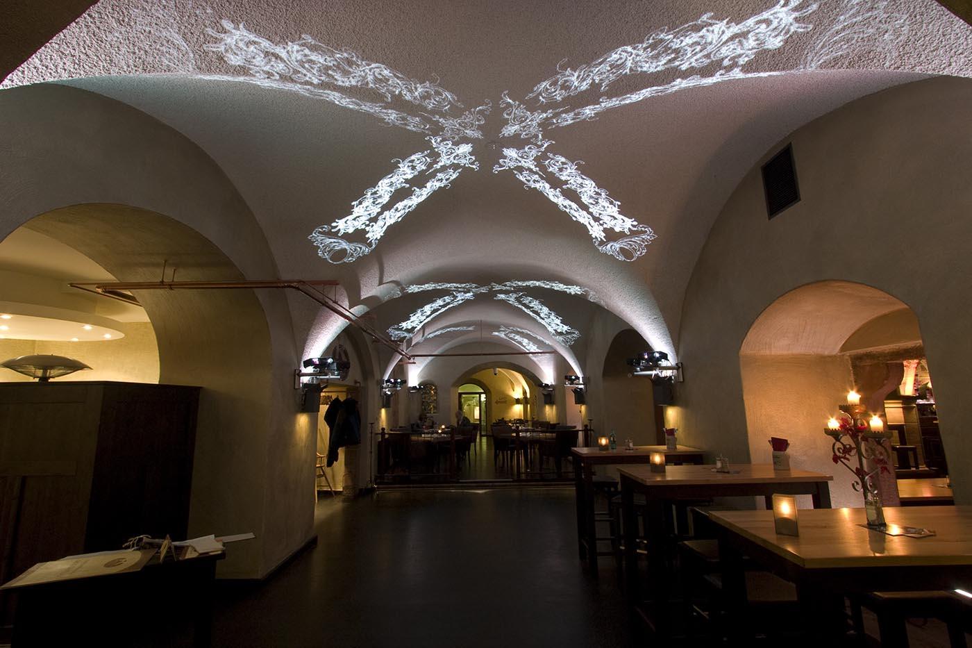Gewölbe Beleuchtung   Ratskeller Tobias Link Lichtplanung